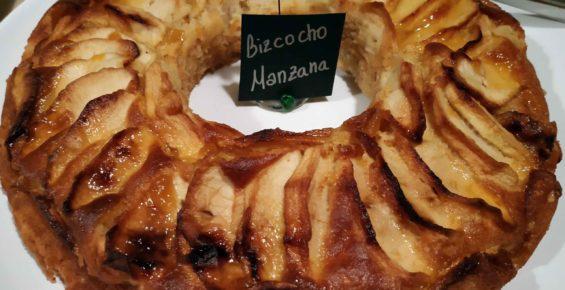 bizcocho manzana